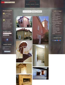 Accueil du site Atelier de la Chaux