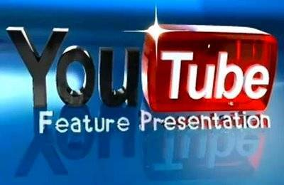 Logo Youtube 3D