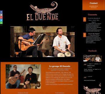 Site web El Duende carré