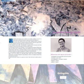 Site web Peintre Jacqueline Schlup-Viguet