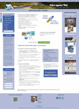 Page accueil WinWinWeb