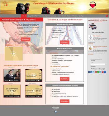 Site internet ARCAD Cardiologie hopital Valence Drôme