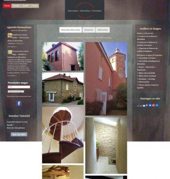 Site internet Atelier Chaux