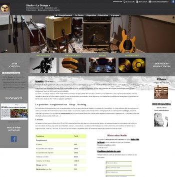 Site web AudioPresta