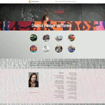 Accueil site internet Cammilenko