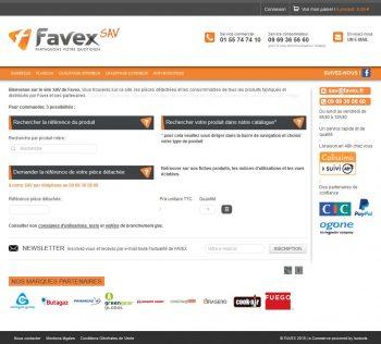 Référence site web FAVEX SAV