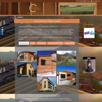 Accueil site internet entreprise lecolegs carré